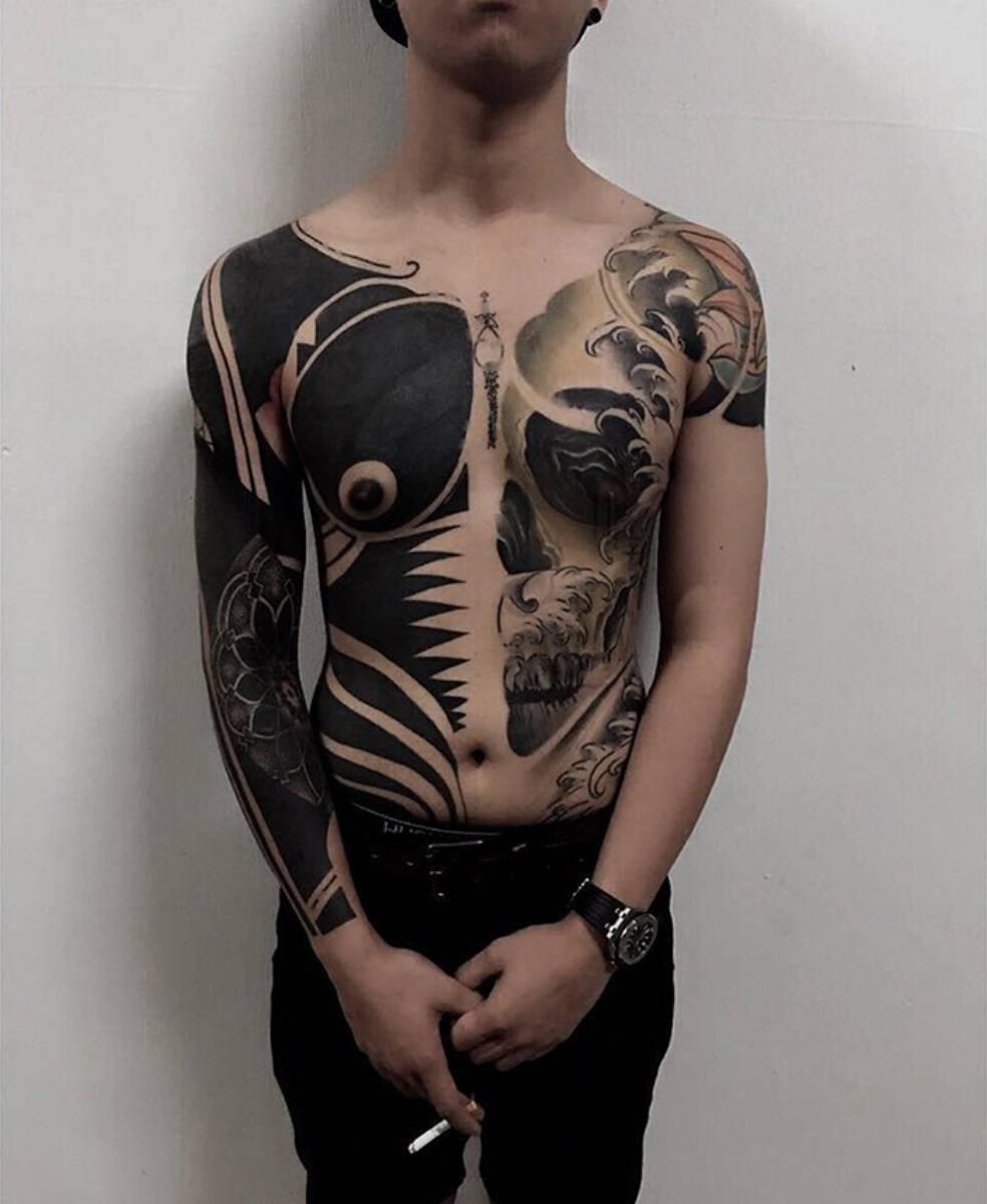 Tatuaż blackout_6