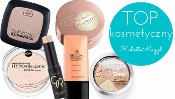 Top kosmetyczny: Rozświetlacze do makijażu