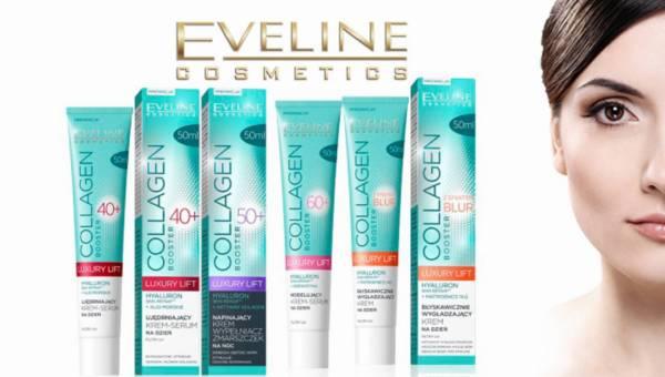 Nowa seria COLLAGEN BOOSTER LUXURY LIFT od Eveline Cosmetics