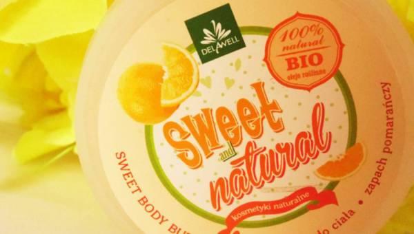 Delawell, Słodkie Masło do ciała o zapachu pomarańczy