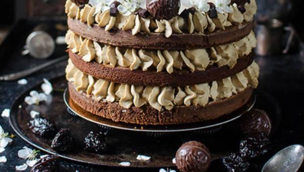 Kawowy tort brownie – na Dzień Matki