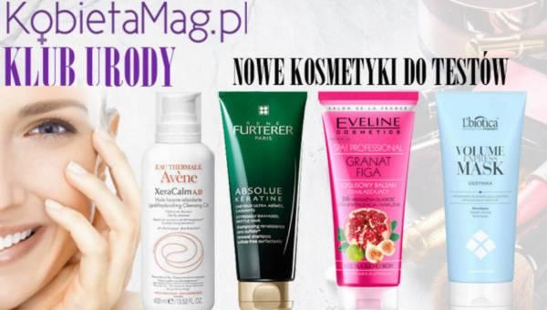 Nowe kosmetyki do testowania w KLUBIE URODY KobietaMag.pl