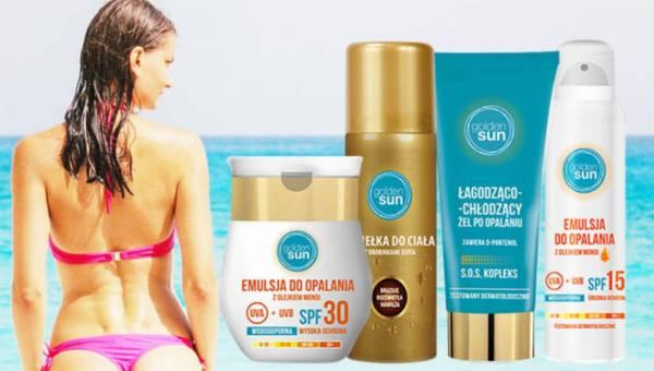 Kosmetyki do opalania od Golden Sun