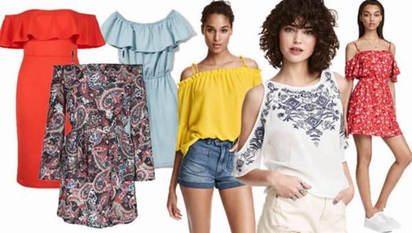 Shoppingowy przegląd: Odkryte ramiona – gorący trend na lato 2016