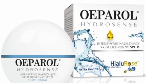 Oeparol Hydrosense, Krem intensywnie nawilżający – cera normalna i mieszana