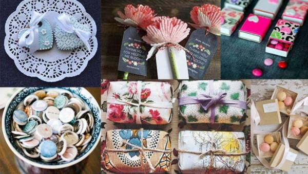 Pomysły na prezenty dla gości weselnych
