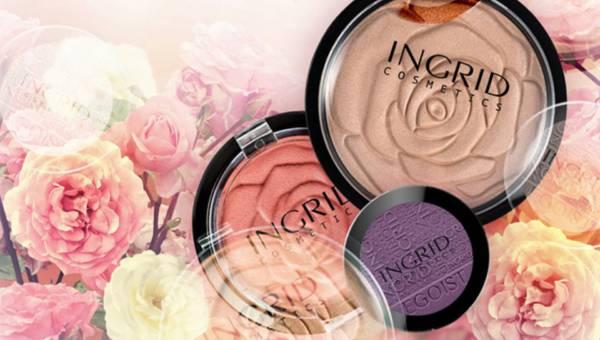 Makijaż na lato 2016 inspirowany barwami kwitnącego ogrodu z INGRID Cosmetics