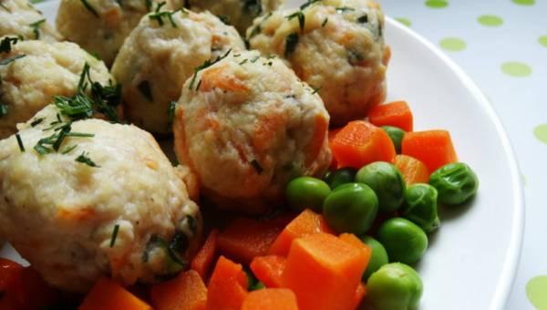 Pulpeciki drobiowe z warzywami