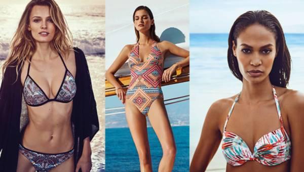 Stroje kąpielowe Etam na lato 2016 – więcej modeli z linii Maya!