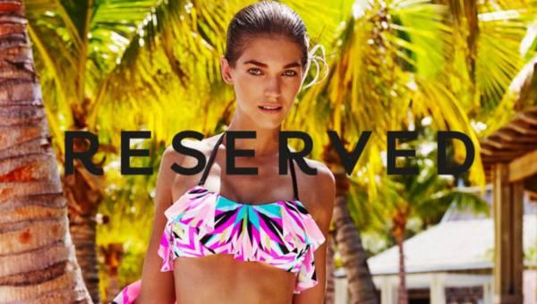 Piękne i barwne stroje kąpielowe Reserved na lato 2016
