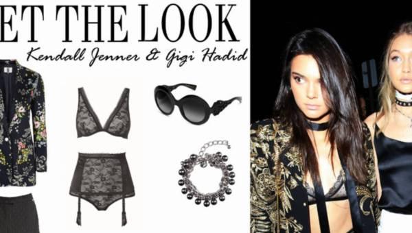 Stylizacje na imprezę: bądź jak Kendall Jenner & Gigi Hadid – najlepsze przyjaciółki