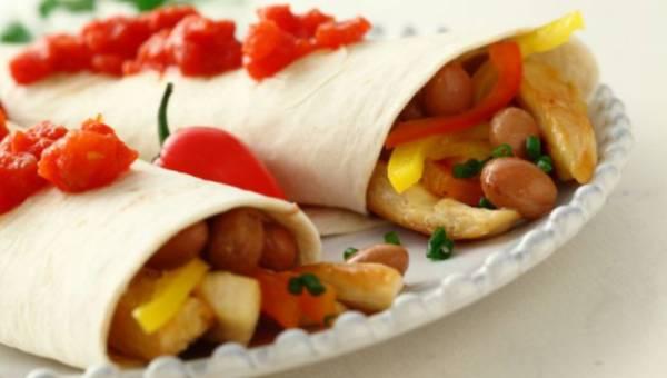 Łatwy przepis na: Tortilla z kurczakiem