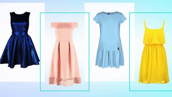 4 sukienki na lato – porcja nowości wprost z wybiegów