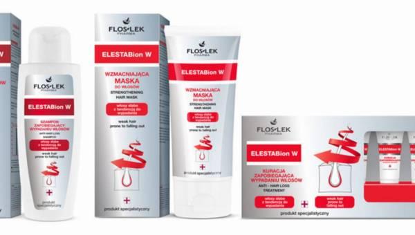 FLOSLEK, seria ELESTABion – na wypadanie włosów