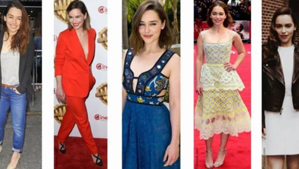 """Jej styl: Emilia Clarke czyli Daenerys Targaryen z serialu """"Gra o tron"""""""