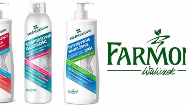 Balsamy i mleczka Farmona NIVELAZIONE body linia do walki z suchą i odwodnioną skórą