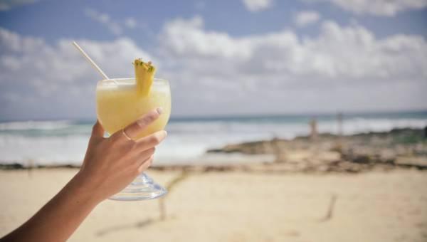 Ananasowy napój chłodzący