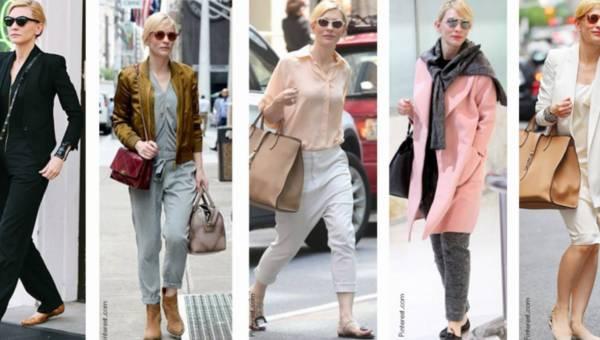 Jak ubierać się casualowo w stylu Cate Blanchett