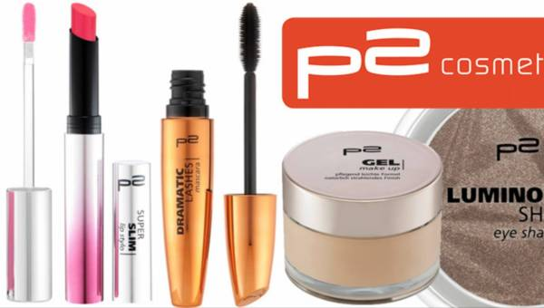 Nowość: Kosmetyki P2 do makijażu