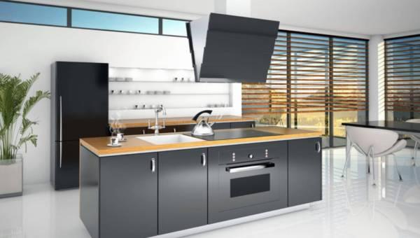 Pomysł na urządzenie kuchni: wyspa
