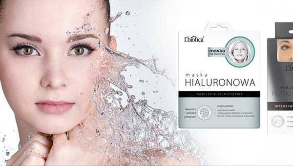Kwas hialuronowy w nowej masce i płatkach pod oczy L`biotica