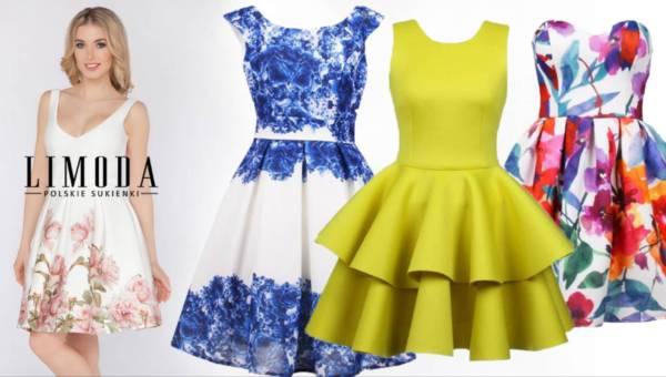 Sukienki na wesele od Limoda na lato 2016