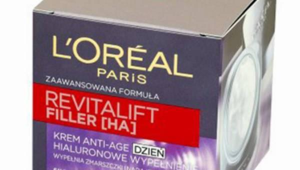 L'Oreal Paris, REVITALIFT FILLER – Krem Anti-Age na dzień