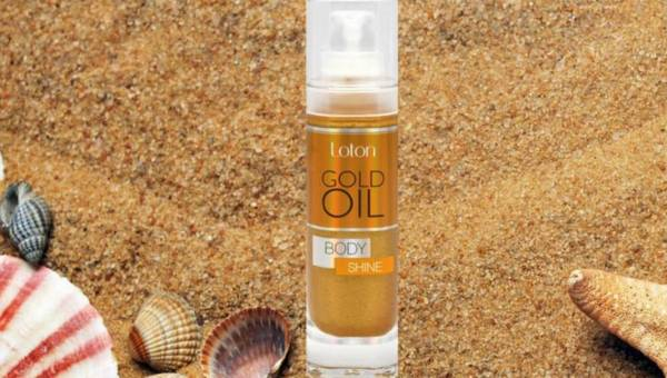 Gold Oil Body Shine – seria Loton  Spa & Beauty