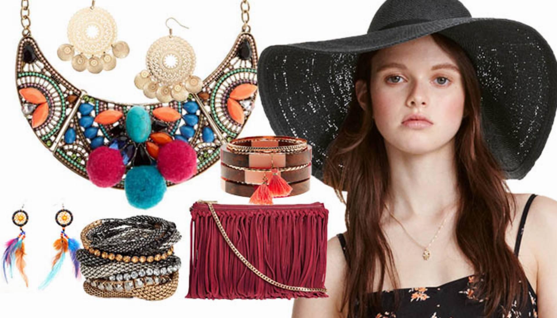 modne dodatki w stylu boho na lato 2016