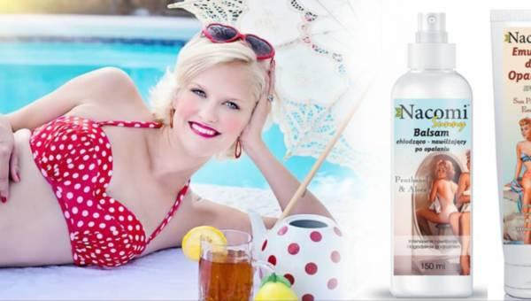 Nacomi Sunny – naturalne kosmetyki do opalania i po opalaniu