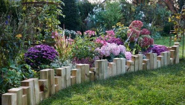Piękna działka: DIY – Jak wykonać palisadę ogrodową w prosty i szybki sposób