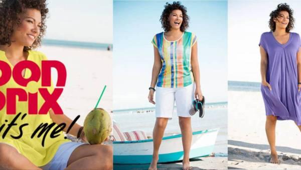 Moda plus size w kolekcji bonprix na lato 2016