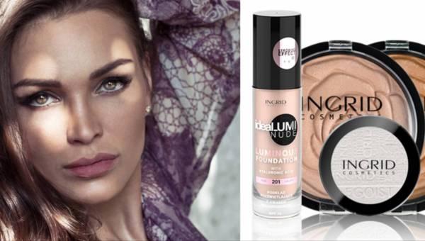 Rozświetlający makijaż na lato 2016 od Ingrid Cosmetics
