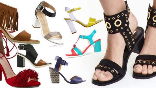Shoppingowy przegląd – Sandały na słupku na lato 2016