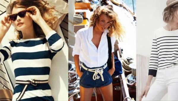Modne stylizacje: Trend marynarski w praktyce