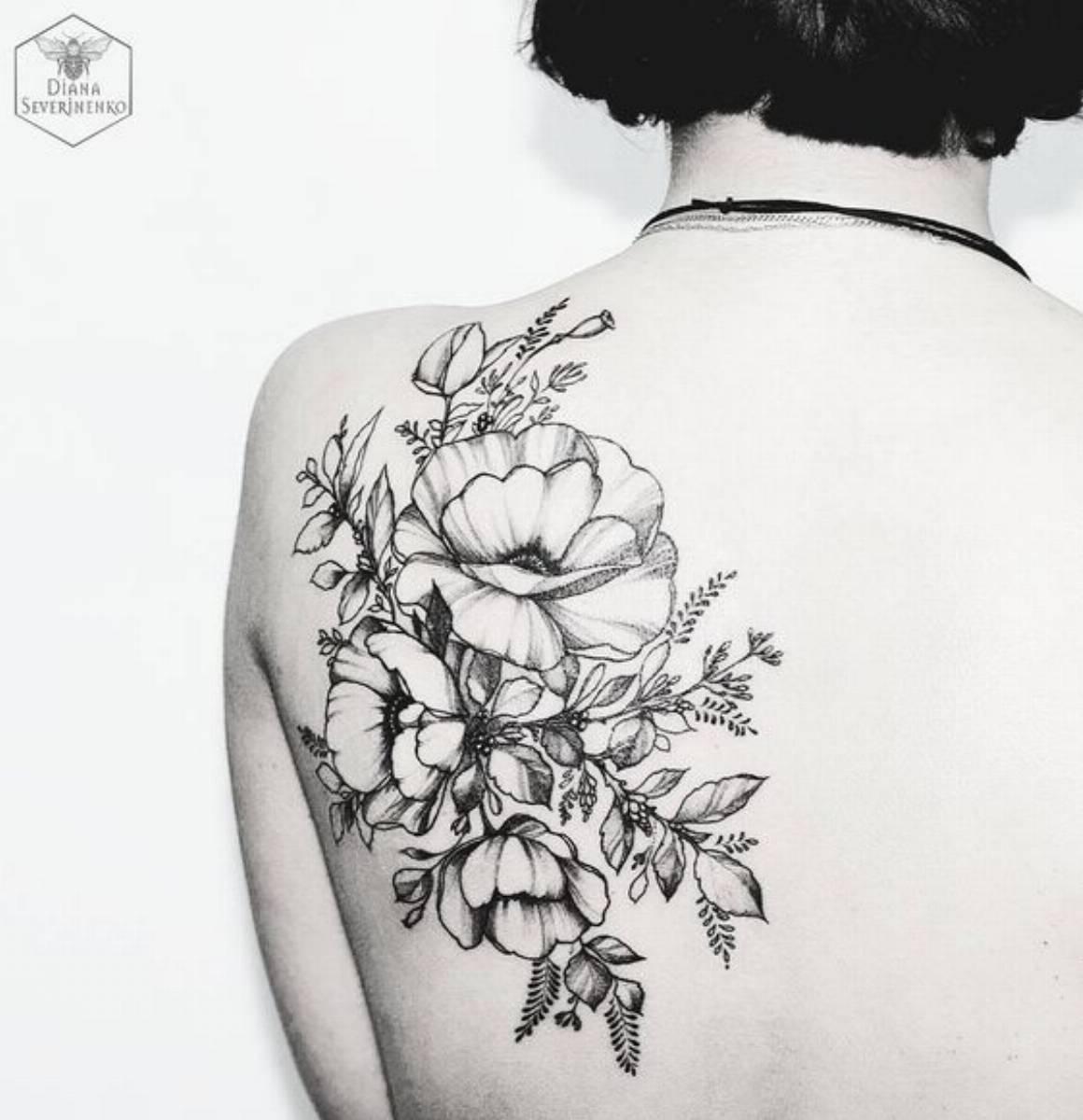 tatuaże w kwiaty (2)