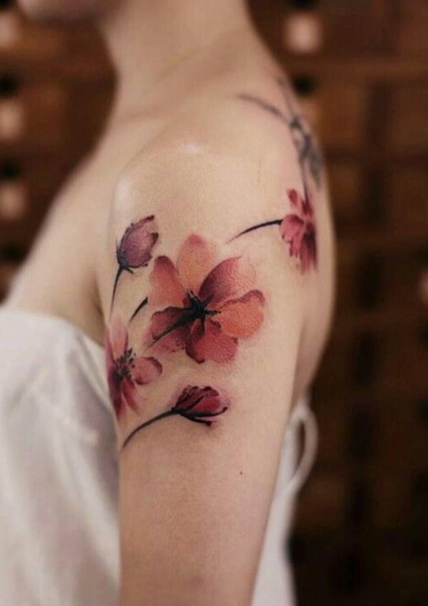 tatuaże w kwiaty (3)