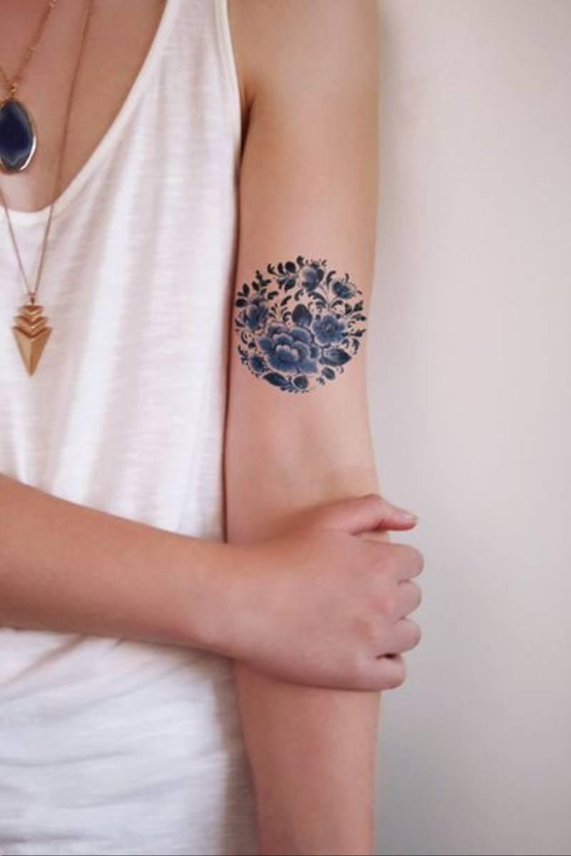 tatuaże w kwiaty (9)