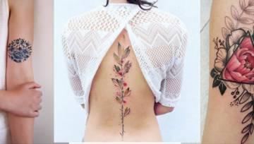 Tatuaże w kwiaty – co o nich sądzicie?