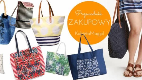 Przewodnik zakupowy: Modne i wygodne torby plażowe na lato 2016