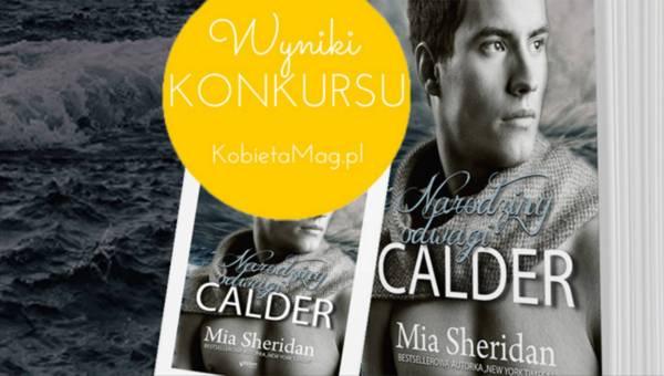 """Wyniki konkursu: """"Calder"""", gorąca powieść na lato"""