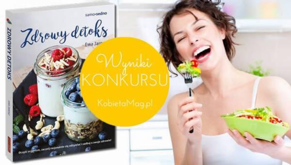 Wyniki konkursu: Zdrowy detoks na wiosnę!