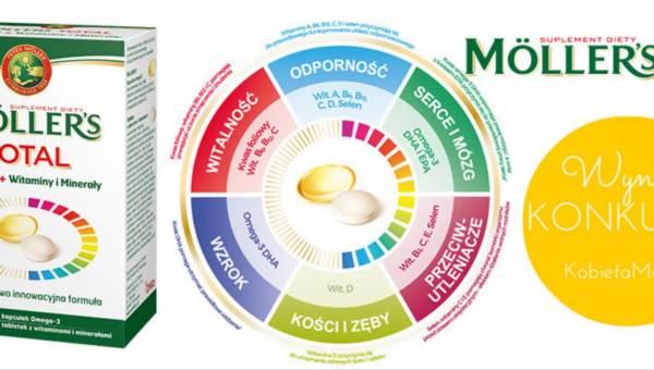 Wyniki konkursu: Pełne wzmocnienie organizmu z Möller's TOTAL®