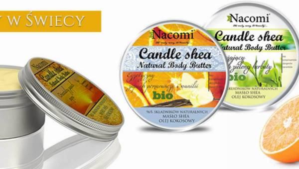 Balsamy w świecy marki Nacomi
