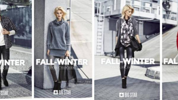 Kolekcja BIG STAR jesień – zima 2016 / 2017