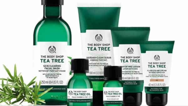 Nowa linia kosmetyków Body Shop Tea Tree dla cery z problemami