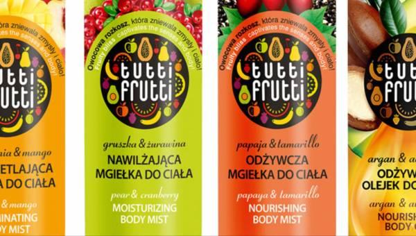Nowość kosmetyczna: olejek i mgiełki Farmona Tutti Frutti