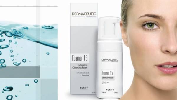 Dermaceutic, Foamer 15 – złuszczająca pianka oczyszczająca dla cer problematycznych