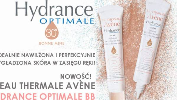 Krem BB idealny na lato: Eau Thermale Avène Hydrance Optimale BB