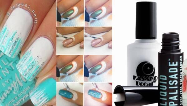 LIQUID PALISADE i zamienniki – czyli malowanie paznokci bez pomalowanych skórek